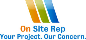 On Site Rep logo